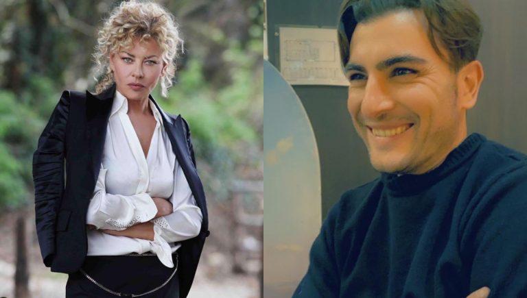 Eva Grimaldi e Nicola Ventola