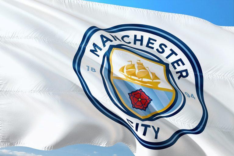 Bandiera Manchester City