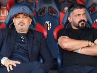 """Gattuso e Mihajlovic insieme: """"Questo è il calcio che ci piace!"""""""