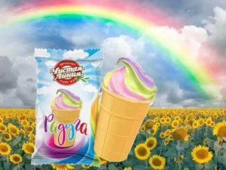 Gelato arcobaleno ritirato in Russia