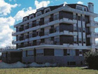 L'ex hotel Daniel's di Fiuggi