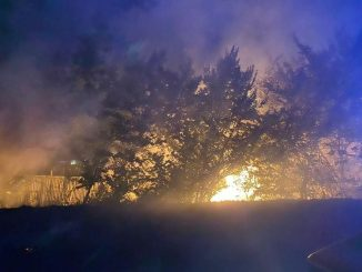 incendio fiumicino discarica abusiva