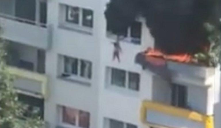 Grenoble, fratellini in casa durante incendio