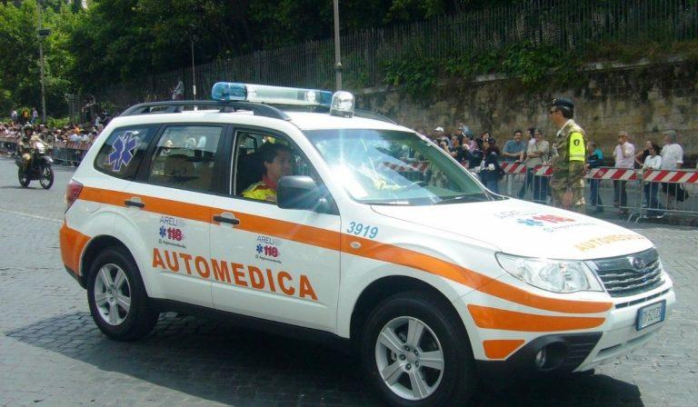 incidente a parre morto disabile automedica