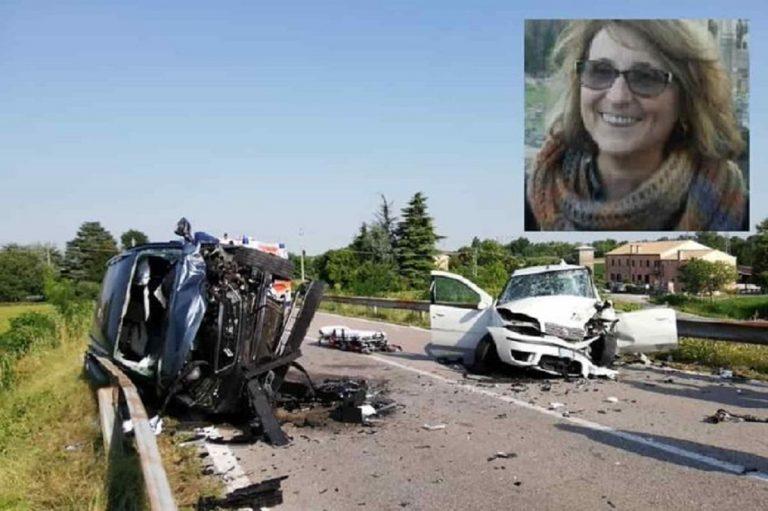 incidente auto morta professoressa religione