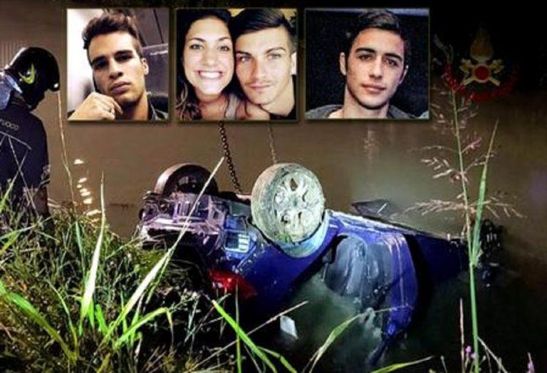 Incidente Jesolo: condannato per omicidio stradale il pirata della strada che speronò l'auto dei 4 giovani