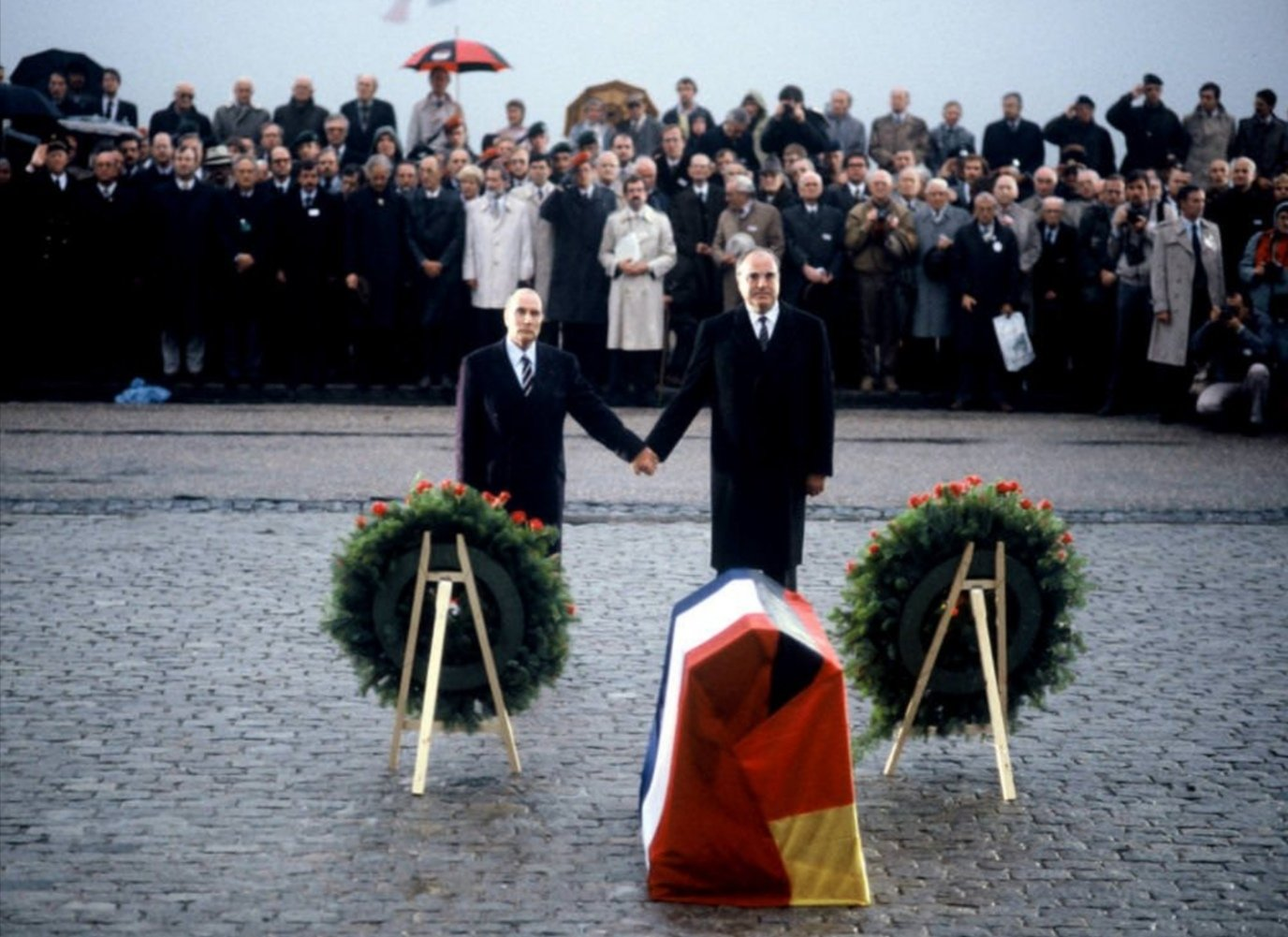 Kohl e Mitterrand a Verdun