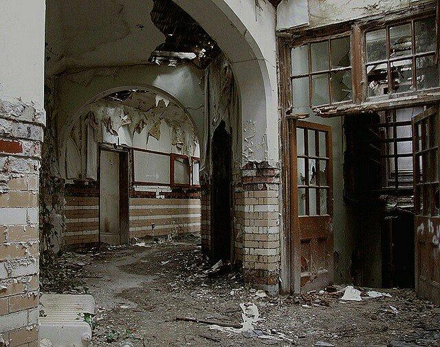 Manicomio abbandonato, Galles