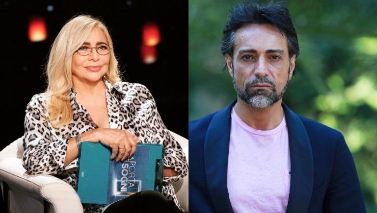 Mara Venier e Pietro Delle Piane