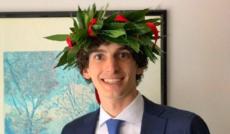 Il figlio di Roberto Stella si laurea