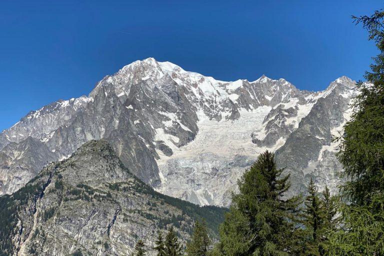 Monte bianco morti 2 alpinisti