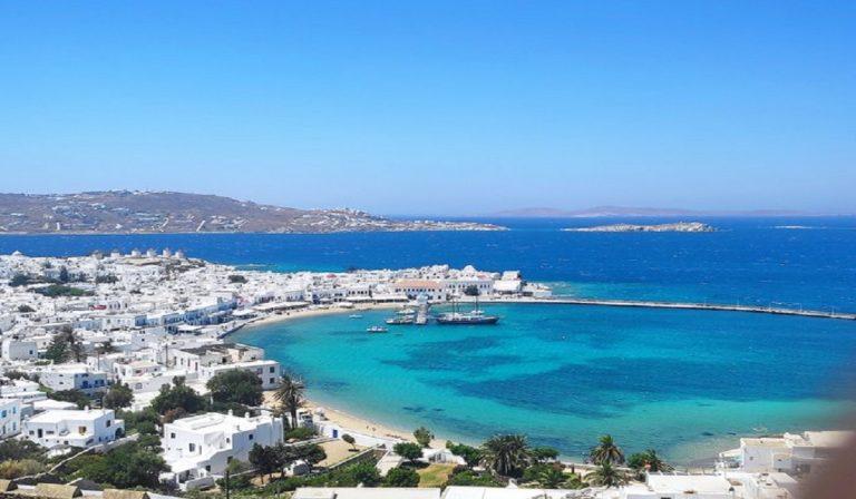Ragazza morta a Mykonos