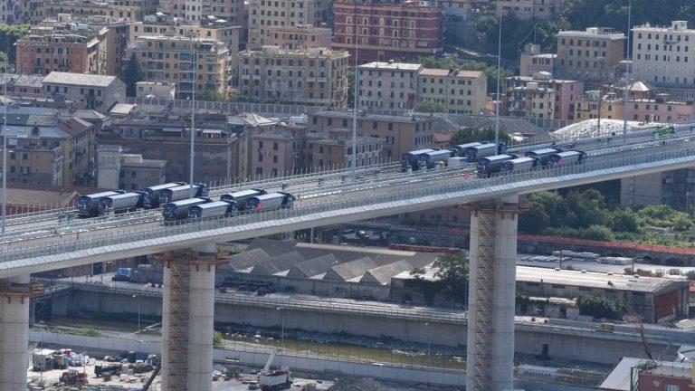 nuovo ponte genova collaudo