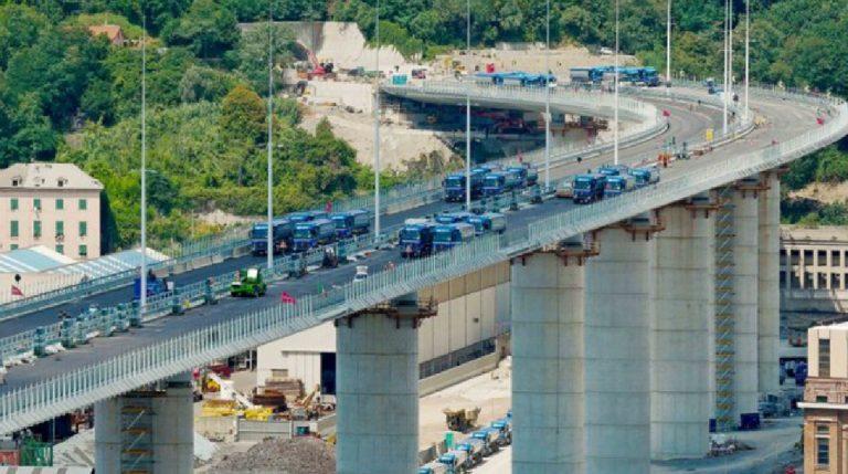 Nuovo ponte Genova inaugurazione