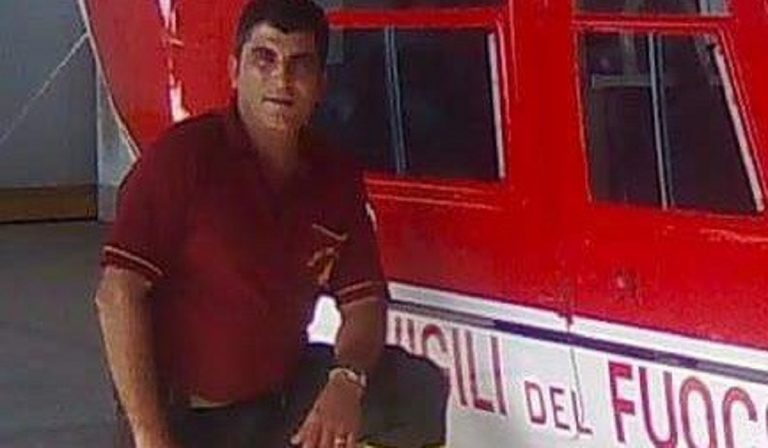pompiere salva padre infarto