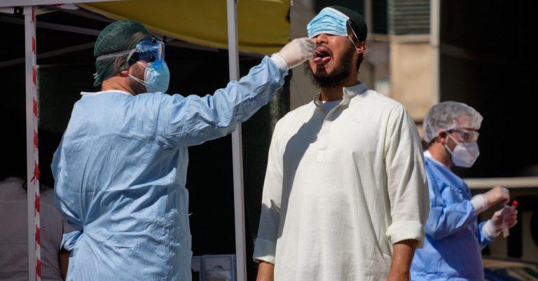 Roma stranieri positivi Coronavirus