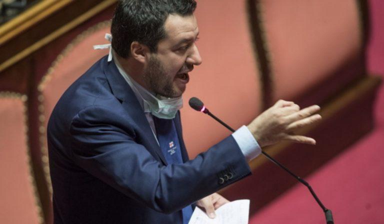 Matteo Salvini contro Conte su Autostrade