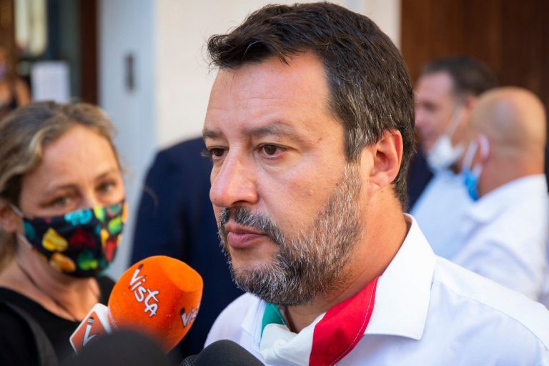 salvini open arms conte
