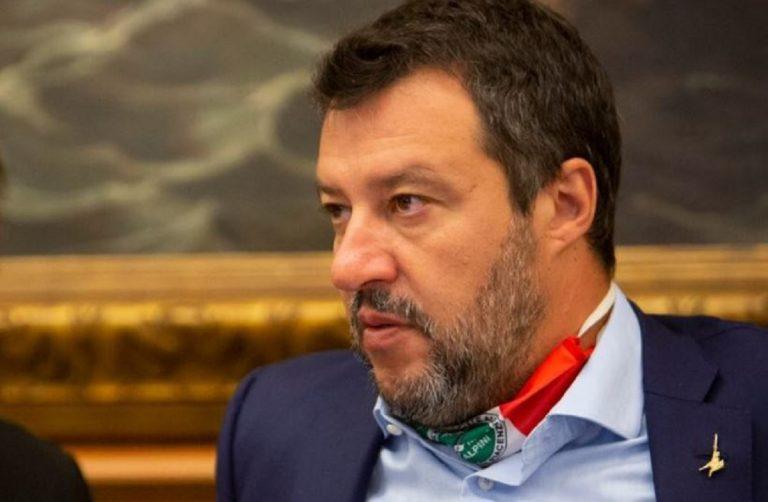 salvini voto processo caso open arms al senato