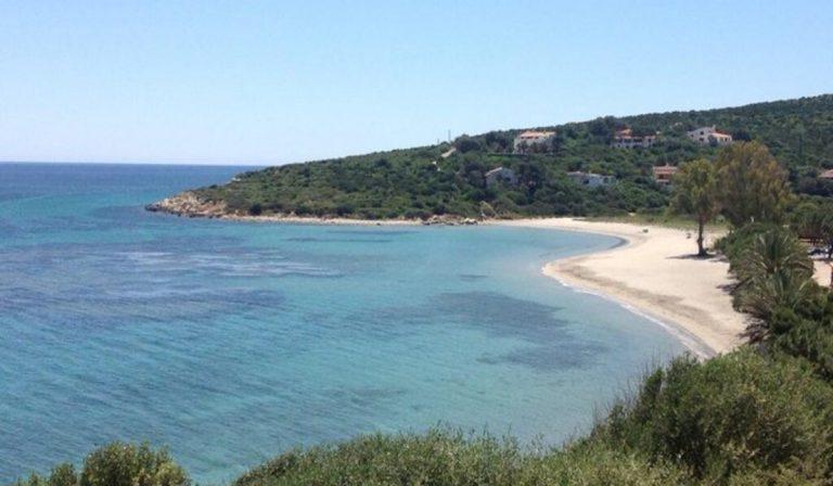 La spiaggia di Maladroxia teatro dei nuovi sbarchi