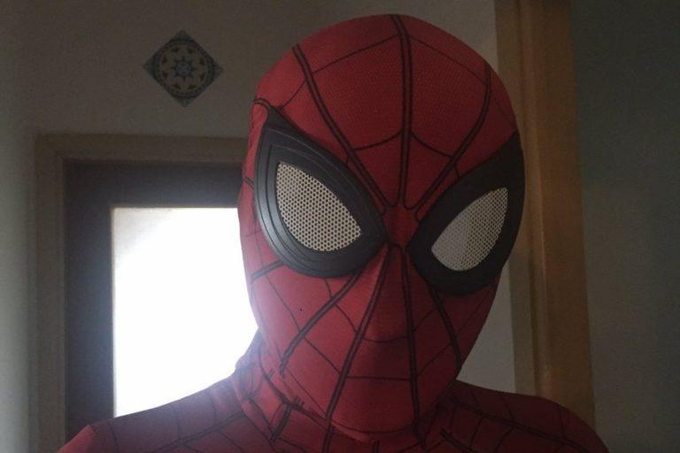 spiderman rapina gelateria garbatella