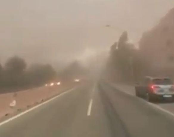 Taranto vento polveri