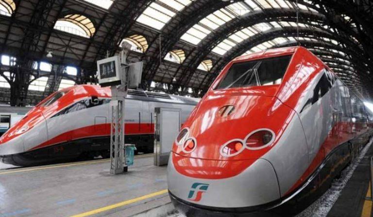 treni distanziamento sociale