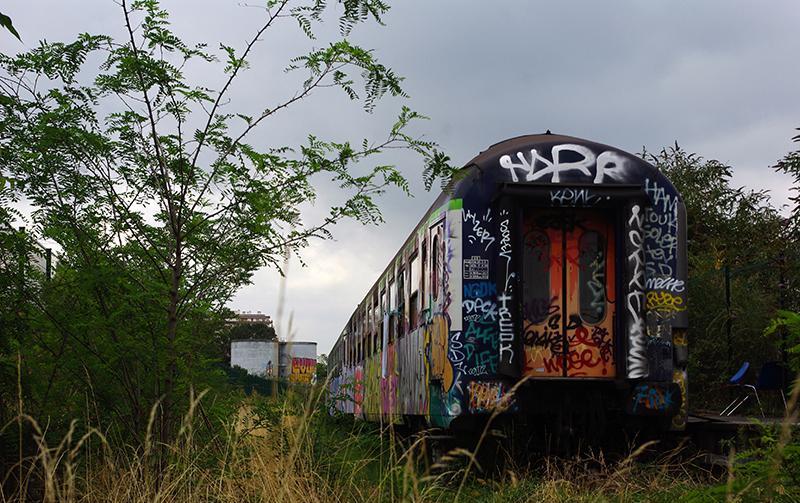 Vagoni abbandonati