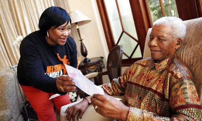 La figlia minore di Nelson Mandela, 'Zindzi'