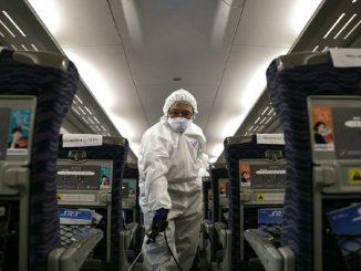 Coronavirus, basso rischio sull'aereo