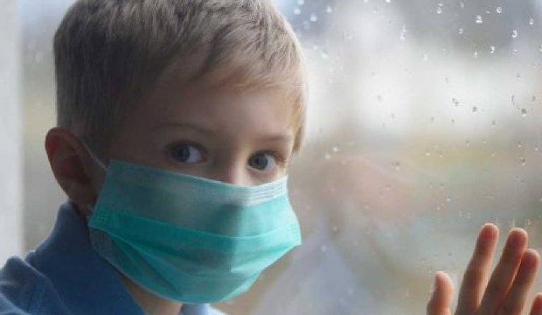 Coronavirus carica virale bambini