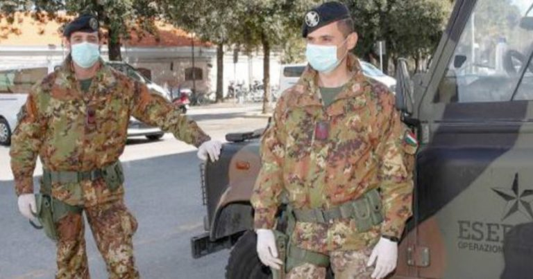 covid italia esercito