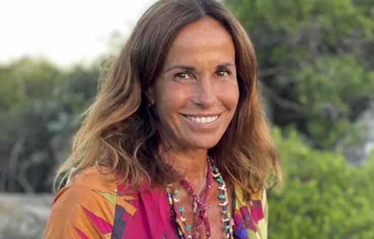 Cristina Parodi dedica figlio