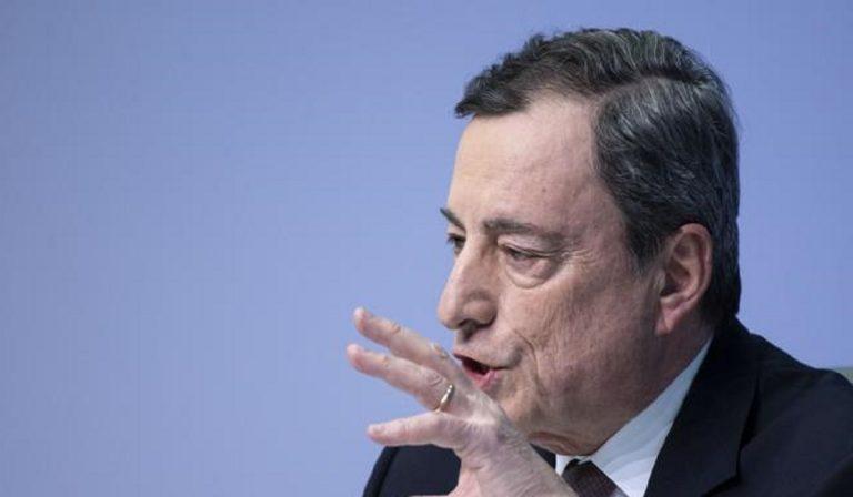 """Coronavirus, Mario Draghi: """"Allarme giovani, futuro a rischio"""""""
