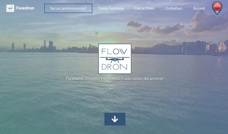 flowdron droni, parte la campagna di crowdfunding