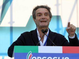 Il Governatore della Lombardia, Attilio Fontana
