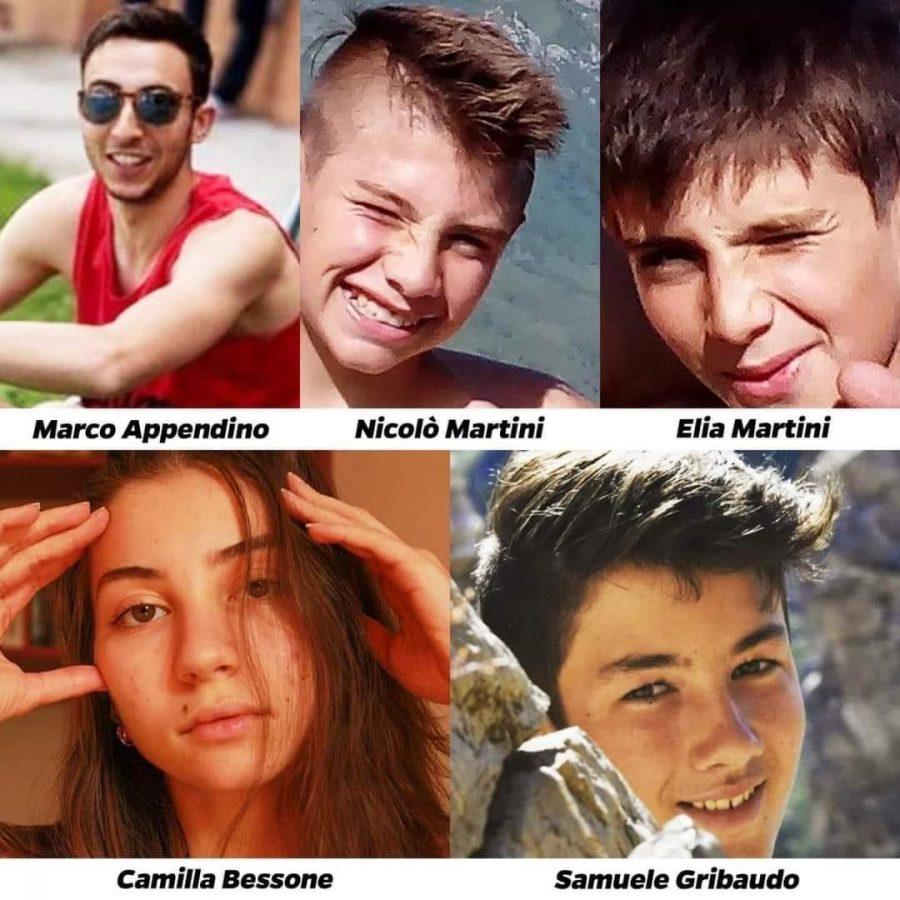 Giovani morti a Castelmagno