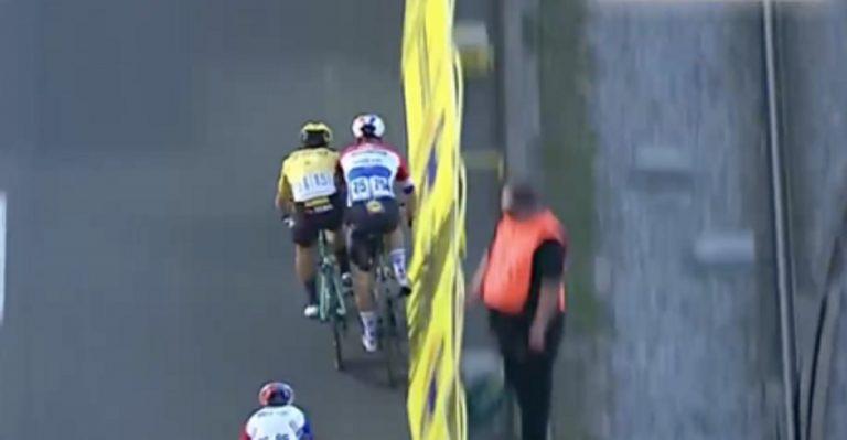 incidente Giro Polonia Groenewegen