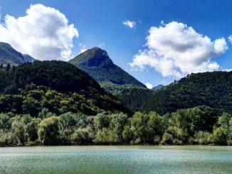 Il Lago di Barrea, luogo della tragedia