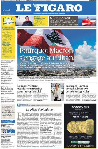 Le Figaro Macron