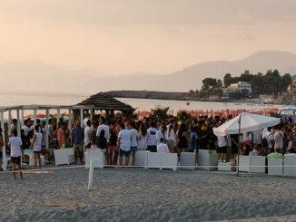 Il lido Sottosopra Beach, a Diamante (CS)