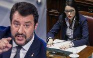 Matteo Salvini e Lucia Azzolina