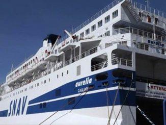La nave quarantena 'Aurelia'