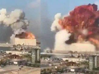 numero vittime esplosione beirut