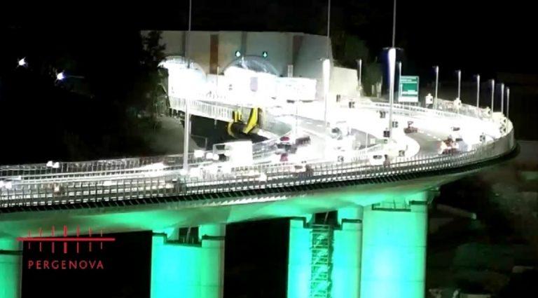 Ponte San Giorgio apertura