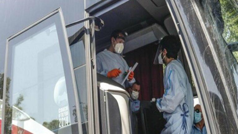 Positivo coronavirus autobus palermo trapani