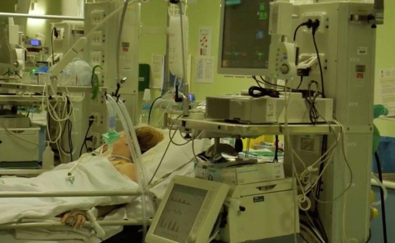 positivo dalla spagna in terapia intensiva