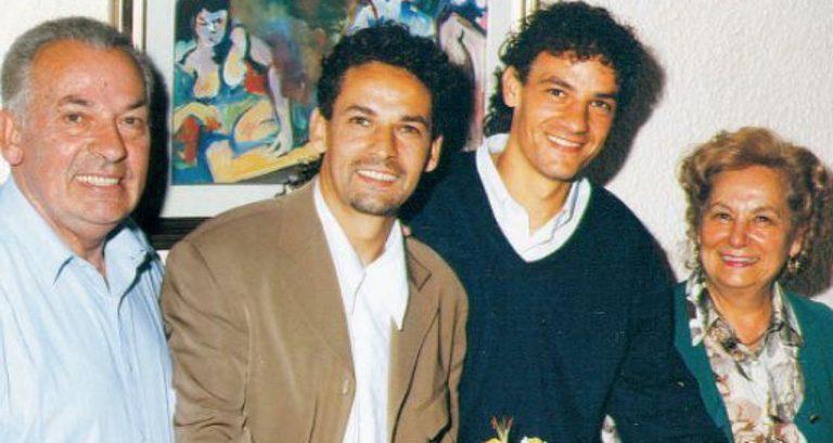 Roberto Baggio in lutto