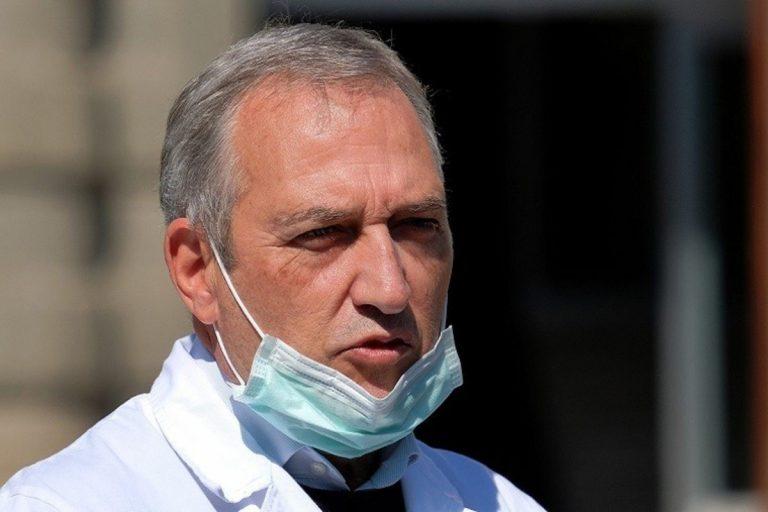 Il prof. Francesco Vaia, direttore dell'Istituto Spallanzani di Roma