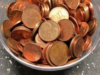 Monete da 1 e 2 centesimi: al via la procedura per dismissione